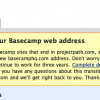 37Signals, Basecamp URL change and not giving a damn about your customers