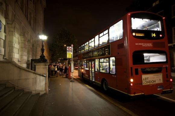 London Bus Home James