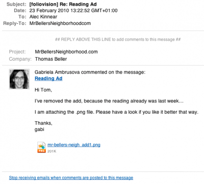 Basecamp html email notifications