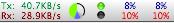 OS X MenuMeters Raging Menace