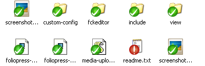 After changing a file.