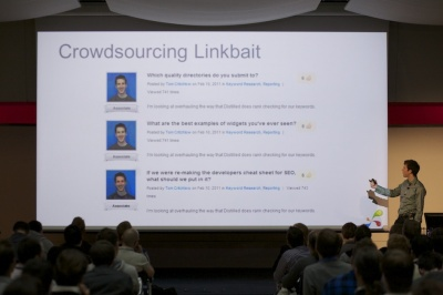Tom Critchlow crowdsourcing linkbait