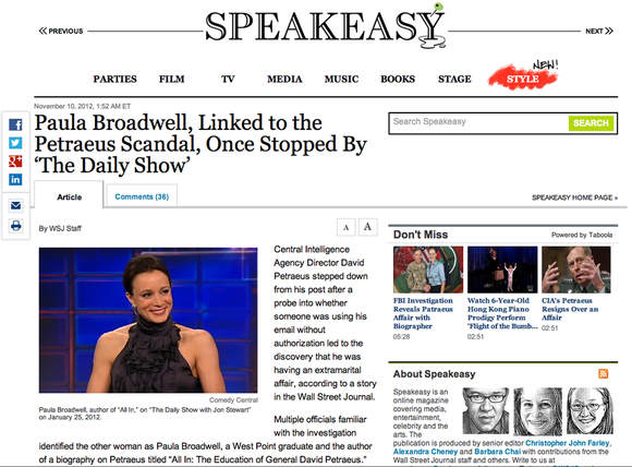 WSJ Speakeasy Blog Technical Review