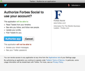 Forbes ask for too much Twitter access: Doing Social Media Wrong