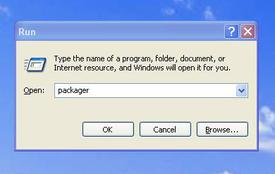 Run Object Packager