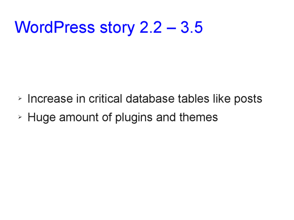 Speed optimization of WordPress 04
