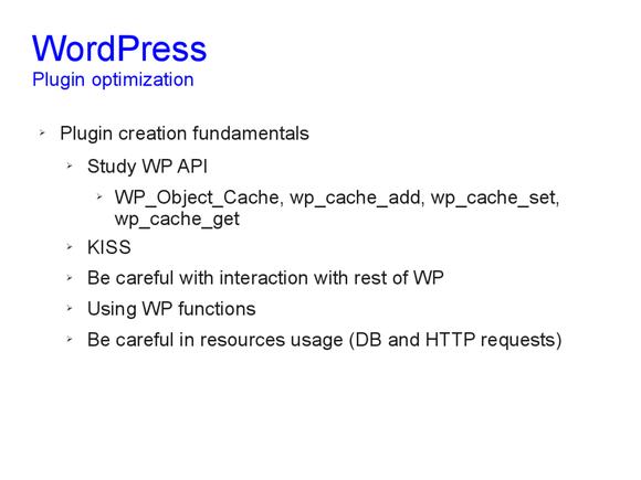Speed optimization of WordPress 14