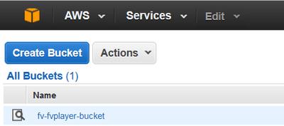 amazon s3 bucket ready
