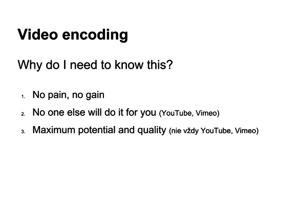video wordpress encoding