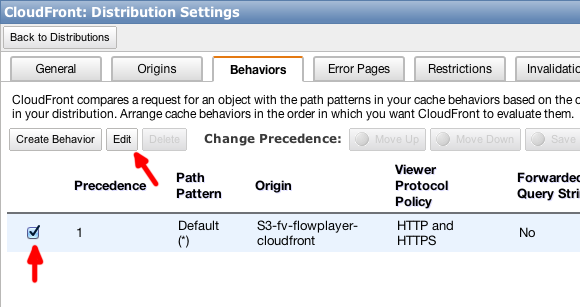 10 adjust cloudfront behavior
