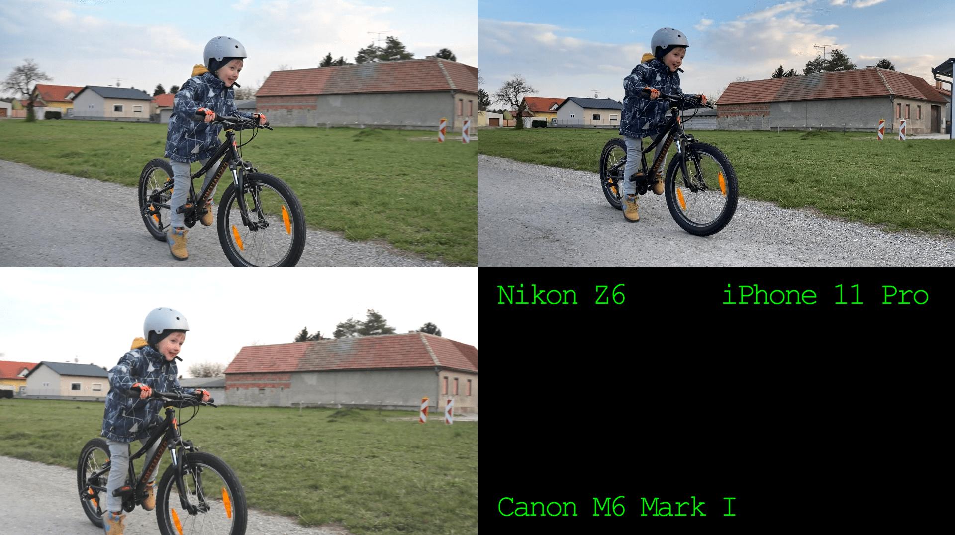 Video Stabilisation Test: Nikon Z6 vs iPhone 11 Pro vs Canon M6 I